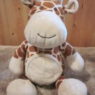 Koala Plush Giraffe Brown Cream