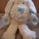 Manhattan Toy Co Record and Play Talking Puppy Dog Cream and Blue Plush