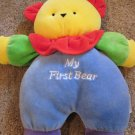 My First Bear by Soft Dreams Primary Colored Plush yellow blue red green purple