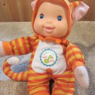 Goldberger Sing & Learn Doll dressed as a Tiger