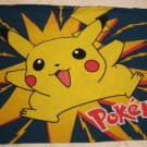 One Standard Size 100% Cotton Flannel Pokemon Pillow Case
