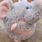 """MushaBelly Chatter Plush Elephant  8"""" Plush Jay at Play"""