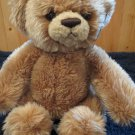 NWT Aurora Beary Friends Plush Tan Bear named Bashful 01319 NWT