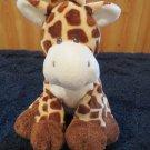 Ty Pluffies Giraffe Named TipTop Plush Toy 2007 sewn eyes