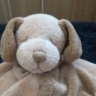 Angel Dear Plush  tan Puppy Dog Brown Spots Lovey Security blanket