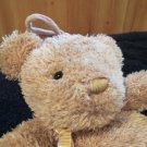Child of Mine Carters Plush Tan Teddy Bear Musical Crib Toy