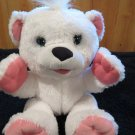 Fisher Price White Polar Bear Snuggle-Kins sounds