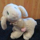 Vintage Precious Moments Plush Lamb Levi with Locket