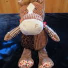 Mary Meyer Motley Zoo Plush Brown Horse New With Tags