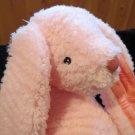 NWT Plush Manhattan Pink Snugglees Bunny Rabbit