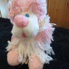 Vintage Disney Plush Pink and White Fanci Fluppy Puppy Dog