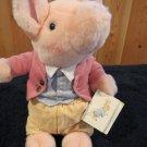 Vintage Eden Beatrix Potter Peter Rabbit Soft Classics Plush Pigling Bland by Eden