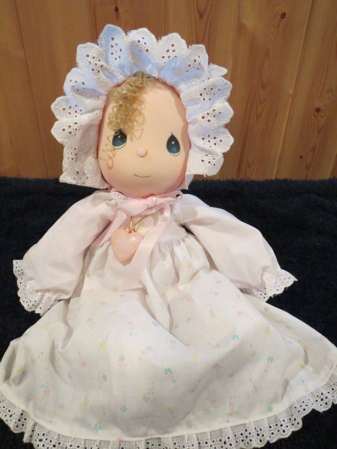 Vintage Applause Precious Moments Cloth Doll Named Ruthie