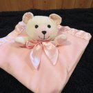 Pink Security Blanket White Bear Unknown brand
