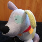 Manhattan Toy Co PlushBlue  Dog Coin Bank