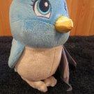 """New Disney Sofia the First Princess 7"""" Plush Blue Bird NWT"""