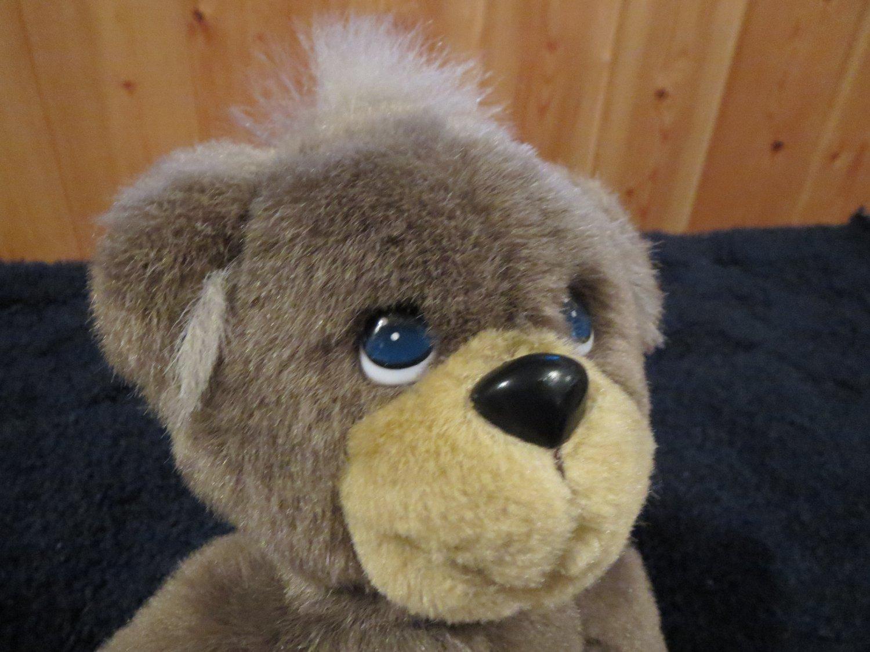 precious moments 2000 teddy bear plush brown and tan