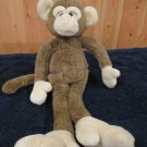 Fine Toy Co Ltd Plush Monkey has Pockets and Large Feet