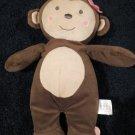 Child of Mine Carters Plush Girl Monkey  Musical Pull Crib Toy