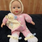 "Fisher Price 13"" Plush Musical Light-up Lullaby Baby Doll with Lamb"