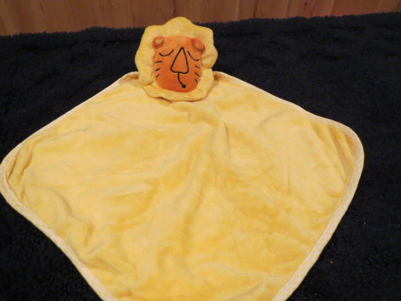 Avon Tiny Tillia Roarsie Lion Yellow Striped Security Blanket