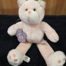 Plush Pink Cat named Natalie by Tweakie P New with tags