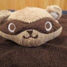 Gymboree Brown Security Blanket with Raccoon