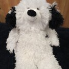 Hallmark Shaggy Ranch Black White Sheep Dog New with Tags