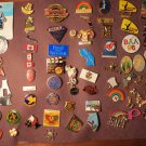 Assorted Pin Lot of 70 AOUW Olympics Sports States