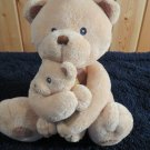 Russ Berrie Cubbles Mother Bear and Musical Baby Bear #34633 Plush Toy