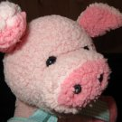"Meadow Medley Plush 8"" Pig by Princess Soft Toys 2007"