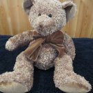 Russ Berrie Plush Brown Bear Named Prince Robert #70300