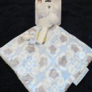 New with tags Blankets & Beyond White Bear Security Blanket Nunu