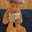 Unipak Keystone Brown Tan Horse Plush with Long legs