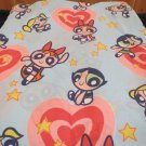 Powerpuff Girls Twin Size Sheet Set Flat Fitted Pillowcase