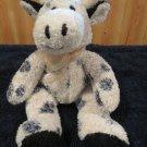 Kellytoy Plush Black White Cow