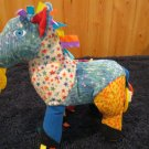 Eric Carle Plush Patchwork Pony horse Activity Toy Teether