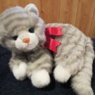 Ty Classic Gray Striped Tabby cat named Al E Cat from 1995