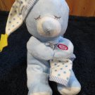 Hugfun Blue Bear holding blanket praying