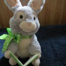 Animated Sound N Light plush Rabbit reading Beatrix Potter Peter Rabbit