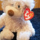 Ty Beanie Babies tan bear named Busby with brown nose