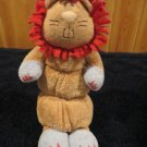 Baby Gund Rumba Musical Pull crib Toy Plush Lion 58557