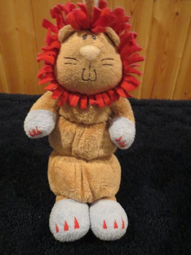 Baby Gund Rumba Musical Pull Crib Toy Plush Lion 58557