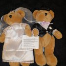 WMG Elk Grove Village 13029 Plush Wedding Forever in Love Bride Groom Bears Musical