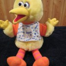 Vintage 1996 Tyco Plush Playtime Big Bird Talking Peek a boo Sesame Street