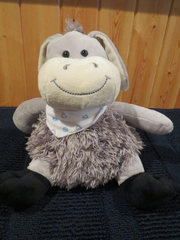 Kellytoy Plush Shaggy Donkey Mule Scarf