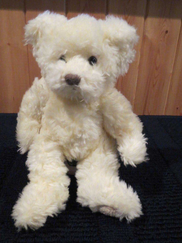Russ Berrie Cream Colored Teddy Bear named Buckingham