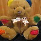 Vintage First & Main Cheerful Chum Menagerie Plush Tan Bear