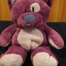 Ty Classic Purple Kitty Cat named Roller 2005 Retired