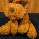 DanDee collectors choice Plush Golden Tan dog with brown Ears Terrier Dan Dee